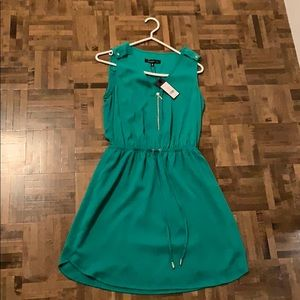Mid length Green Party dress